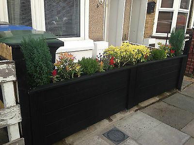 tanalised decking window box trough vegetable garden planter 900x300 4ftx1ft