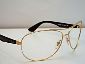 0da891725a5 Authentic Ray-Ban RB 3526 112 13 Matte Gold Brown Sunglasses Frame ...