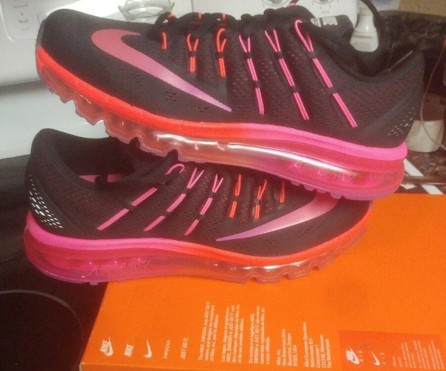 New Nike Women  Air Max 2018 Athletic Shoes Black ***