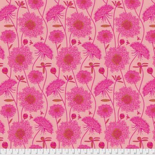 Anna Maria Horner Sweet Dreams PWAH122 Lacey Bubblegum Cotton Fabric By Yd