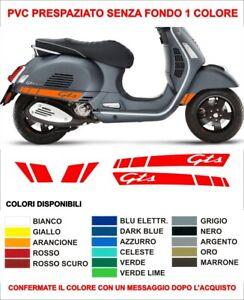 Kit Adesivi Stickers Vespa GTS 300 250 125 Super Sport Parafango laterali decals