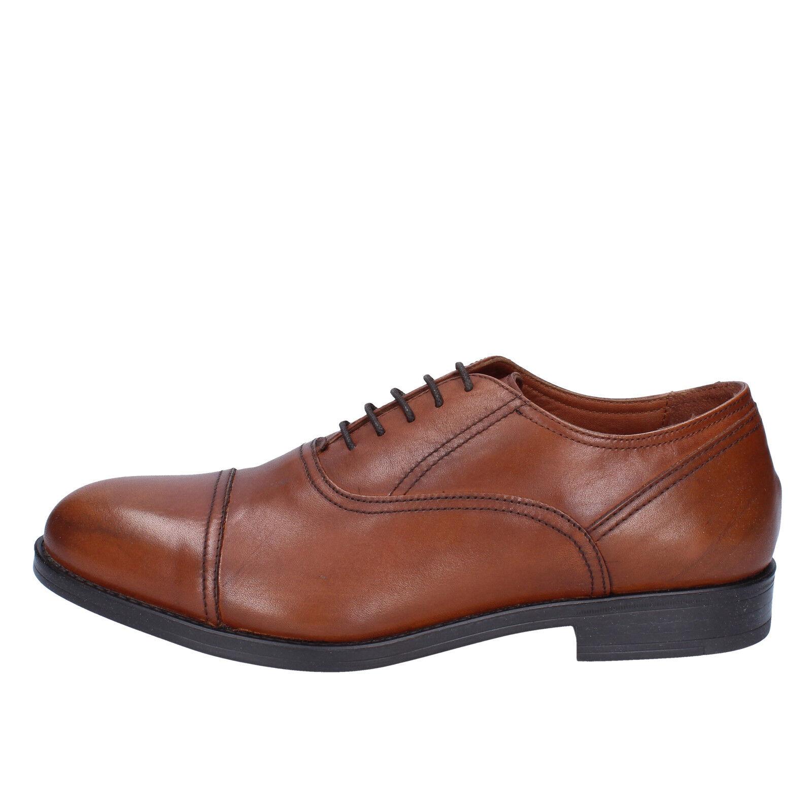 scarpe uomo TRIVER FLIGHT (cuoio) 44 EU classiche marrone (cuoio) FLIGHT pelle BX559-44 1d726e
