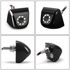 auto kfz videomonitor mit r ckfahrkamera lkw parkkamera mit 8 led licht ebay. Black Bedroom Furniture Sets. Home Design Ideas