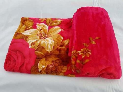 New Luxurious Super Soft Fleeces Mink Throw Blanket