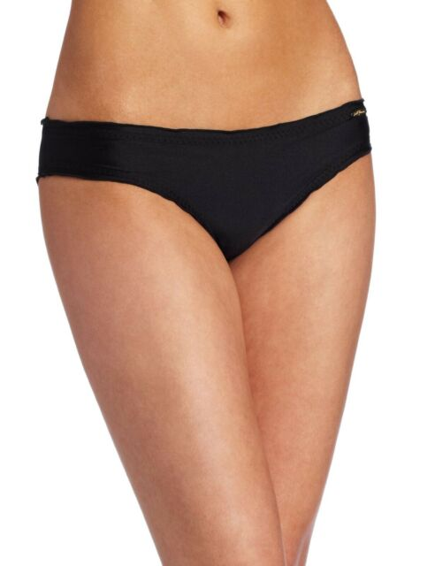 LULI FAMA 137419 Cosita Buena Wavy Full Ruched-Back Bikini Bottom Size Small