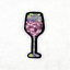 2-12PC-Juice-Cup-Wine-Glass-Sequins-Embroidery-Sew-Iron-On-Patch-Badges-Applique thumbnail 6