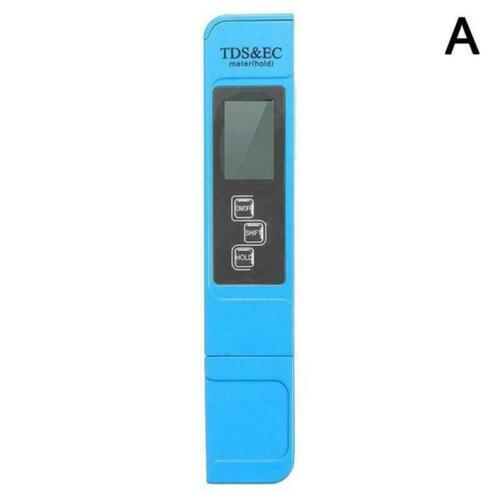 3 in1 Digital TDS EC LCD Meter Water Quality Tester Purity 0-9990 Filter L0 V0A5
