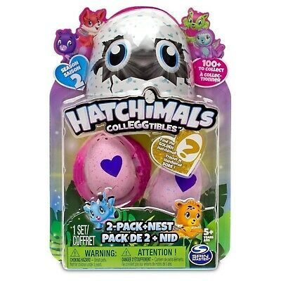 Hatchimals CollEGGtibles 8-Pack /& Bonus Season 2 Pink Eggs Spin Master