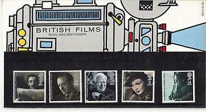 1985-GB-QEII-ROYAL-MAIL-COMMEMORATIVE-PRESENTATION-PACK-NO-165-BRITISH-FILMS