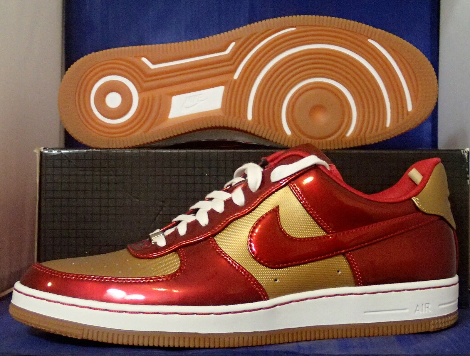 detailed look 67423 7879a durable service Nike Air Force 1 Downtown Leather QS Ironman AF1 SZ 11.5 (  573979-