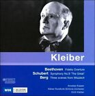Beethoven: Fidelio Overture; Schubert: Symphony No. 9; Berg: Scenes from Wozzeck (CD, Jul-2008, Medici Arts)