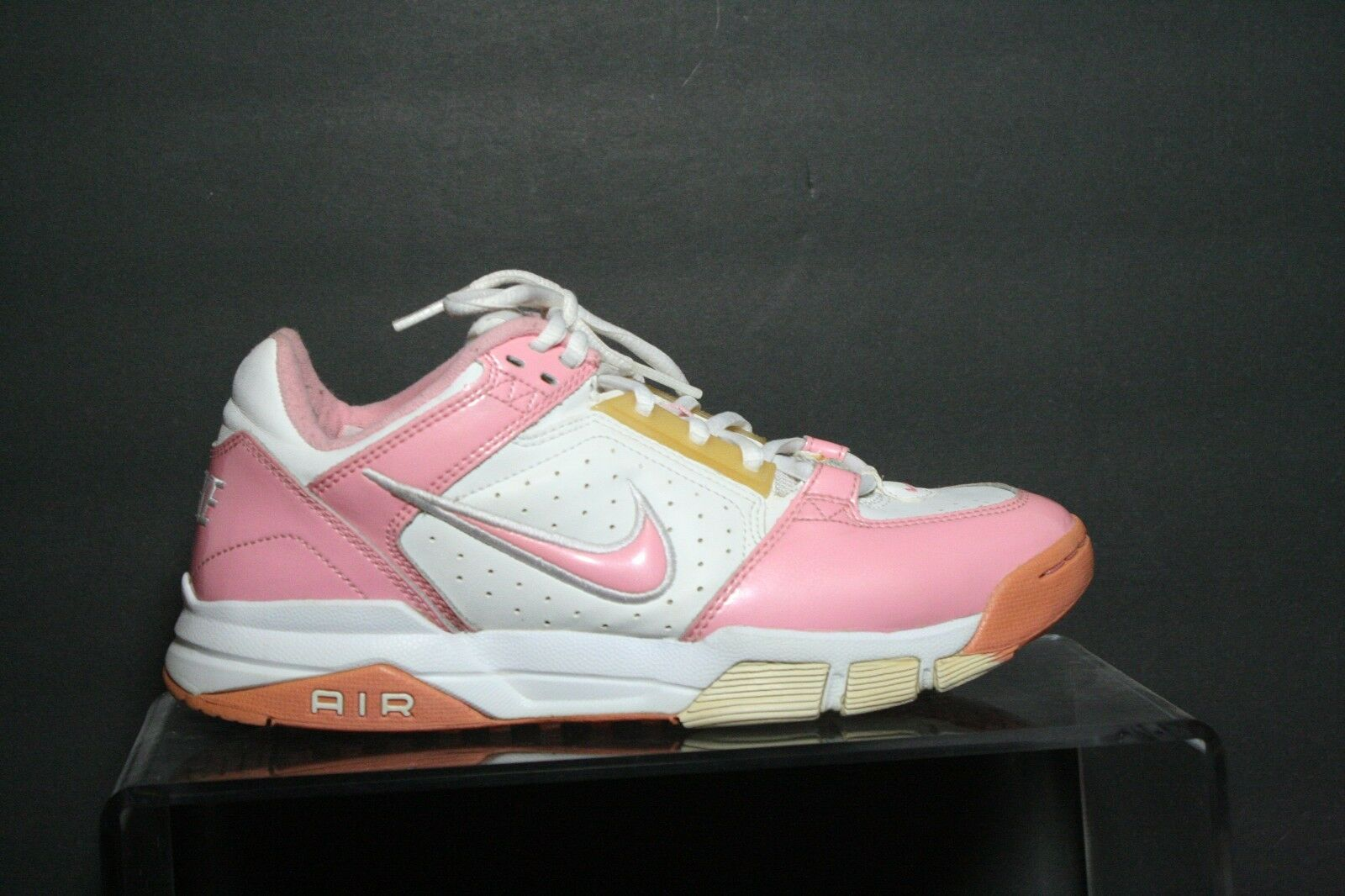 Nike 2004 Vintage OG Athletic Sneaker Women 8.5 Hip Multi Pink White Running
