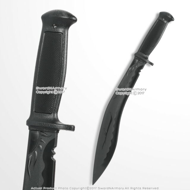 Gurkha Kukri Polypropylene Training Dagger Combat Fighting Sword Sparring  Blade