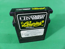 "vintage CBS Coleco Vision Video Game Cartridge - Modul - "" Looping "" - 8-Bit"