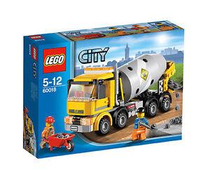 LEGO City Betonmischer günstig kaufen 60018