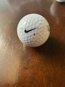 Elemental servir erección  Nike one black golf balls And Top-flite Golf Ball #1 USED, Lot Of 3   eBay