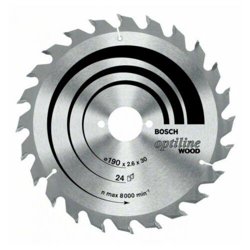 Bosch Kreissägeblatt Optiline Wood für Handkreissägen 235 x 30//25 x 2,8 mm 48