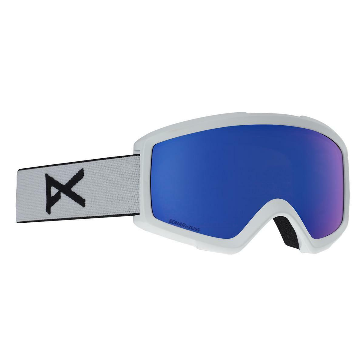 Anon Helix 2.0 Sonar Goggles White Sonar IR blueee