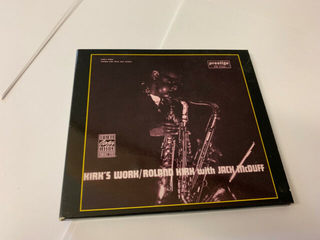 ROLAND KIRK JAKC MCDUFF KIRK'S WORK CD NRMINT/EX- W BKLT [T10]