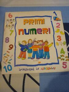 Primi numeri imparare in allegria