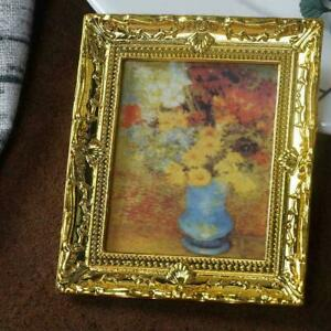1-12-Scale-Doll-House-Miniature-Flower-Oil-Painting-Home-Room-Accessories-N-A0N6