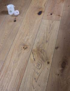 Austen 220mm Wide Long Plank Rustic Aged Oak Engineered Wood