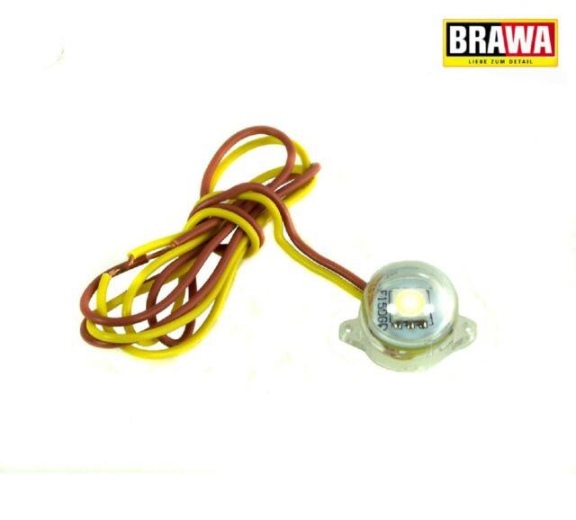 Brawa 94705 Beleuchtungssockel 160° (LED) neonweiß ++ NEU in OVP