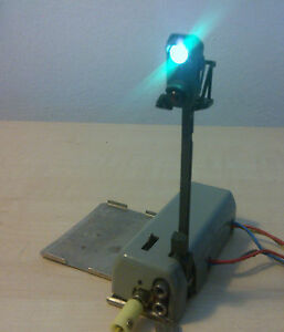 Marklin-H0-7188-Lumiere-Signal-principal-hors-pair-teste-avec