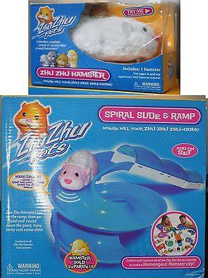 Steady Zhu Spirale Rutsche & Rampe Plus Chunk Hamster Geschenkbox Original Viele 2009 Promoting Health And Curing Diseases Sonstige Spielzeug
