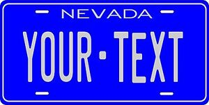Nevada 1982 License Plate Personalized Custom Auto Bike Motorcycle Moped key tag