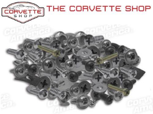 Corvette Interior Screw Kit C2 1967 Convertible K1102