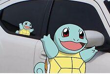 "Pokemon Squirtle Anime 7"" Window Car Decal, Sticker, Pokemon Go"