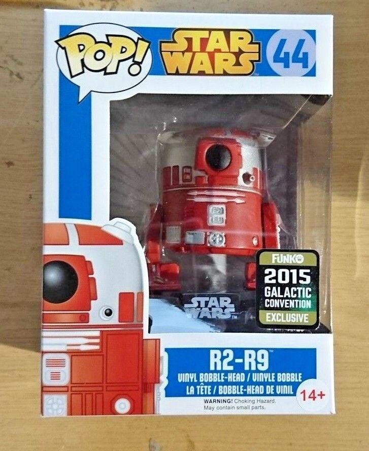 Funko POP Vinyl Figur Figur Figur Star Wars R2-R9 Exclu Feier 2015 Exclusiv 44 UK 565f64