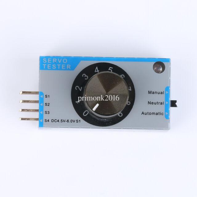 EK2-0907 Updated Servo Tester Server Electronic Speed Controller  WL