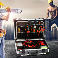 Aluminum Hard Tool Case Can Storage All Your Tools In One Toolbox With Strap