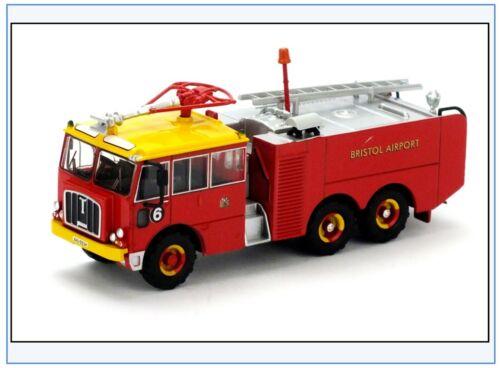 TN003 Thornycroft Nubian Major Airport Fire Service Bristol Oxford 1:76,NEU /&
