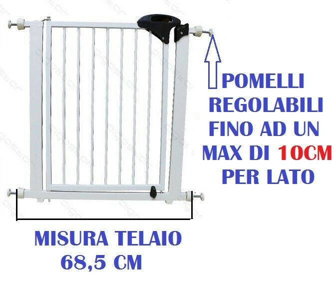 CANCELLETTO DI SICUREZZA BAMBINI ANIMALI OPEN'N STOP CANCELLO  68,5X3XH77
