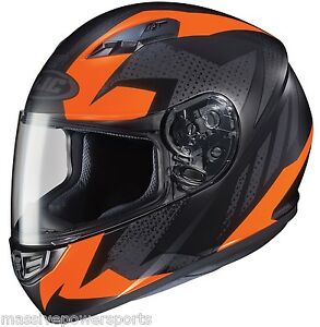 HJC CS-R3 Treague Motorcycle Helmet Matte Neon Orange S SM Small Full Face