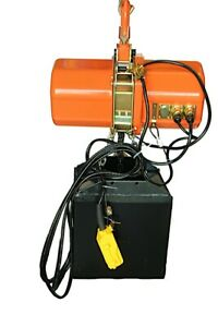 3-ton-Electric-Chain-Hoist-6000-LB-electric-crane-hoist-single-phase-25ft-chain