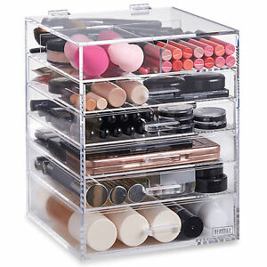 Attirant Image Is Loading Beautify Acrylic Makeup Organiser 6 Tier Clear Cosmetic