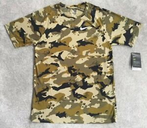 57bd4921 NEW Mens Nike Training Dry T Shirt Top Camo Limited Edition Gym ...
