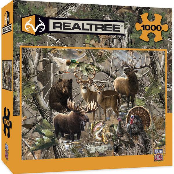 Realtree Open Season Rompecabezas de 1000 Piezas por Dona Dona Dona Gelsinge,Obra Maestra 84d368