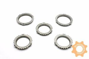 PEUGEOT-206-MA-GEARBOX-GENUINE-OE-SYNCHRO-BAULK-RING-KIT-5-PARTS