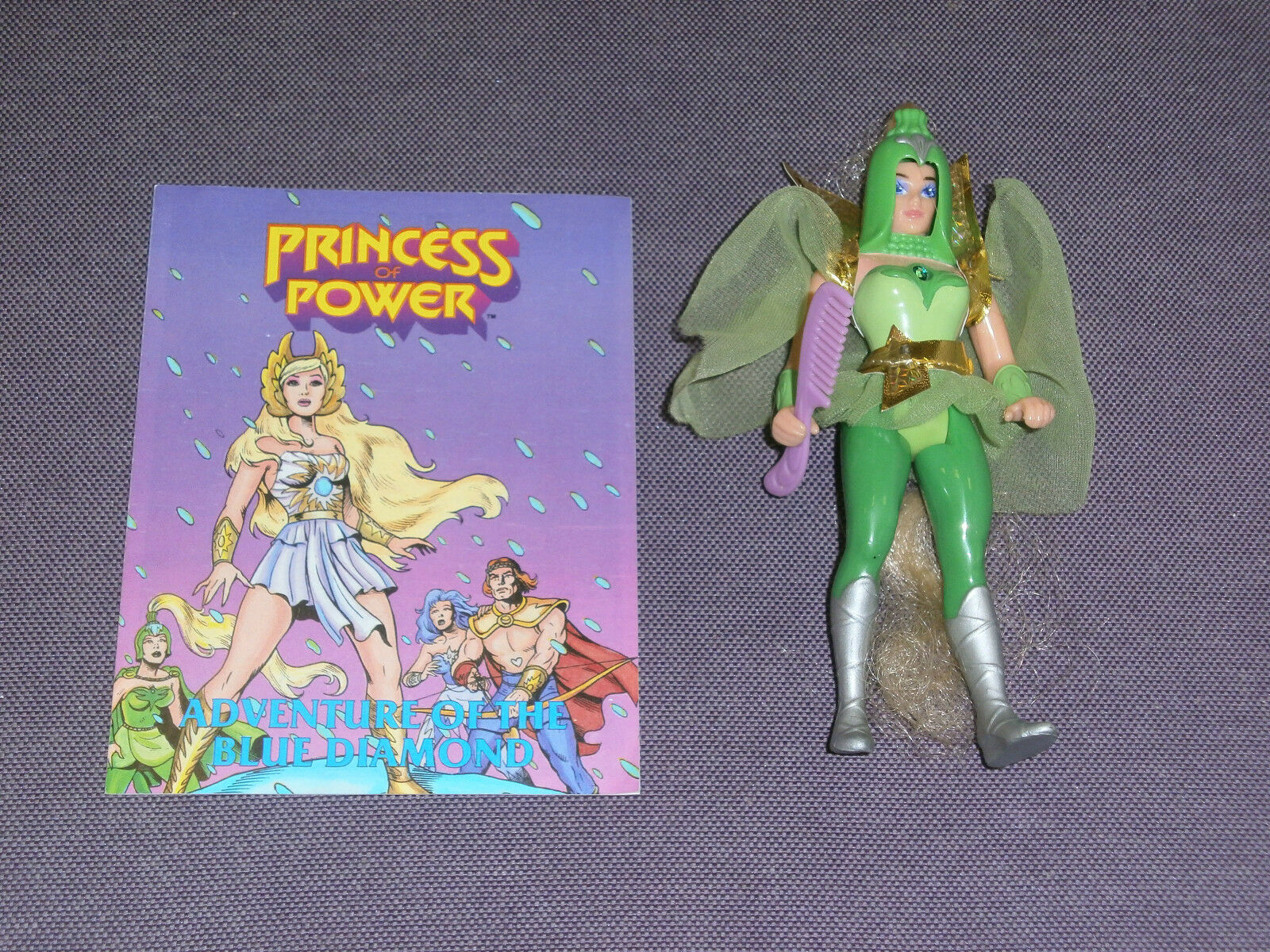 Vintage She Ra MOTU DOUBLE TROUBLE Loose Complete 1985 Mattel