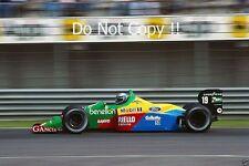 Alessandro Nannini Benetton B188 San Marino Grand Prix 1989 Photograph