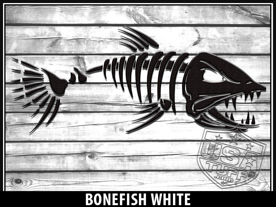 USATuff Custom Cooler Decal Wrap fits YETI Tundra 65qt FULL Bonefish Bonefish FULL Weiß WD 656949