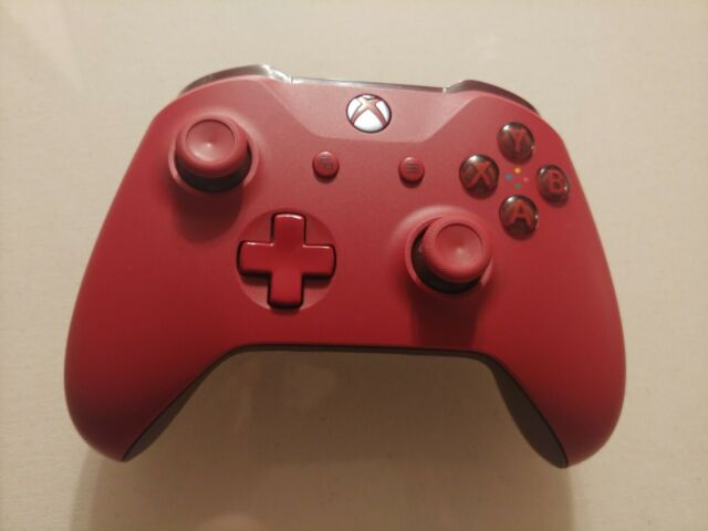 Official Microsoft Xbox One Bluetooth Wireless Controller Windows 10 PC Red