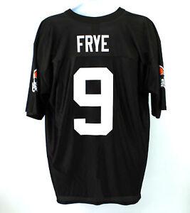 size 40 bb379 23dd4 Details about NFL Men's Cleveland Browns Black Jersey Charlie Frye #9 /  Size Large / Polyester