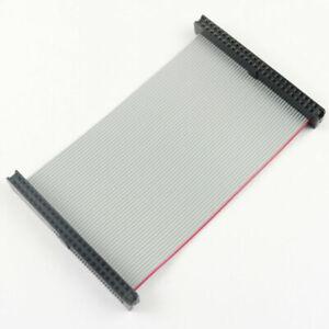 2Pcs 2mm Pitch 2x8 Pin 16 Pin 16 Wire IDC Flat Ribbon Cable Length 60CM