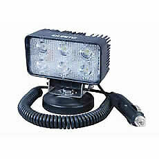 Durite 0-420-72 Led Magnetic Base Work Light 6 x 3w 12//24v